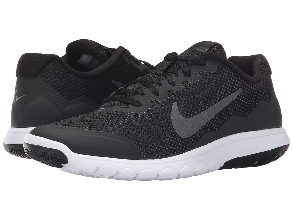 Nike - Flex Experience Run 4 (Black/Anthracite/White/Metallic Dark Grey) Women's Running Shoes