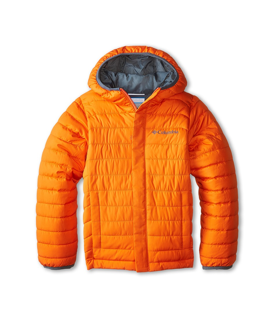 Columbia Kids - Powder Lite Puffer (Little Kids/Big Kids) (Tangy Orange) Boy's Coat