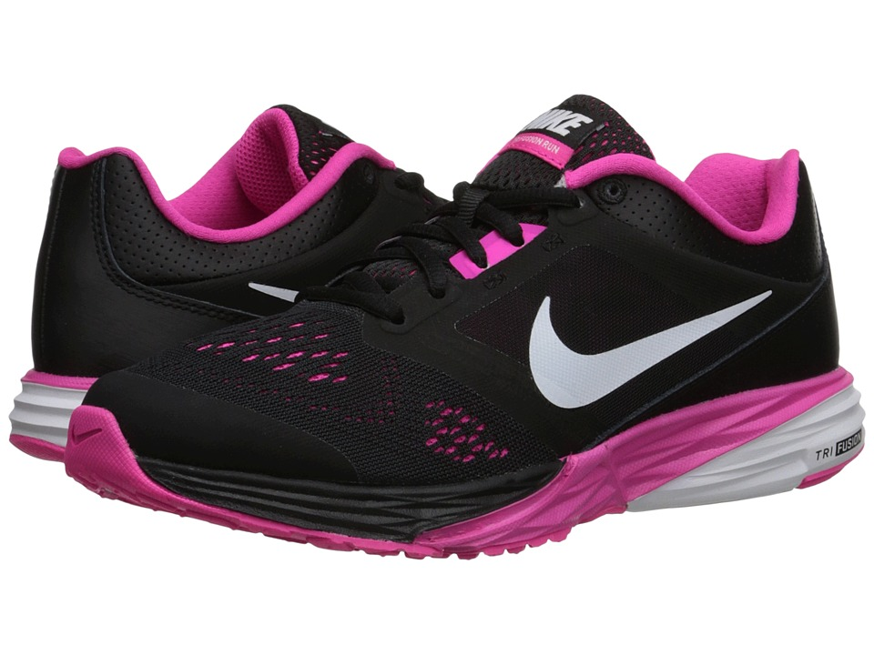 Nike - Tri Fusion Run (Black/Pink Foil/White) Women's Running Shoes