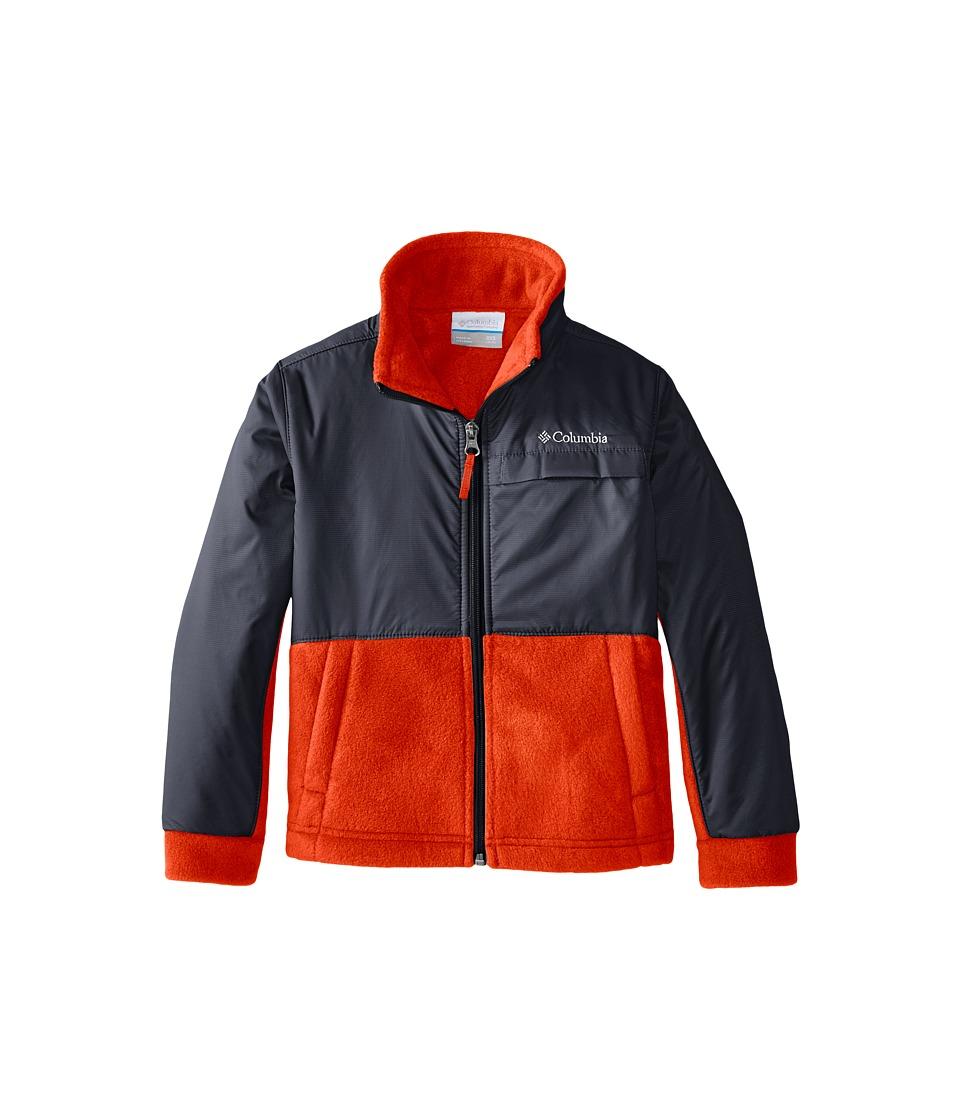 Columbia Kids - Steens Mountain Overlay (Little Kids/Big Kids) (Tangy Orange) Boy's Coat