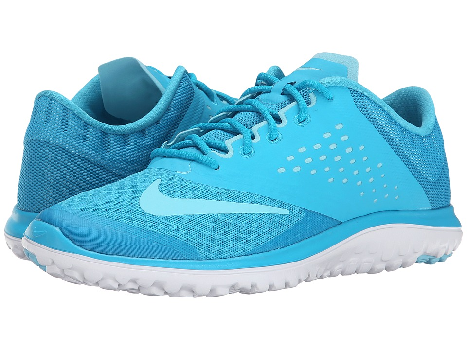 Nike - FS Lite Run 2 (Blue Lagoon/White/Tide Pool Blue) Women