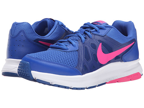 Nike - Dart 11 (Game Royal/Deep Royal Blue/White/Pink Pow) Women's Running Shoes