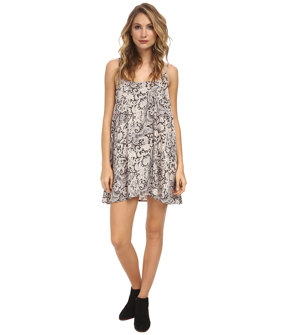 Free People - Polyester Chiffon Printed Emily Slip (Night Combo) Women