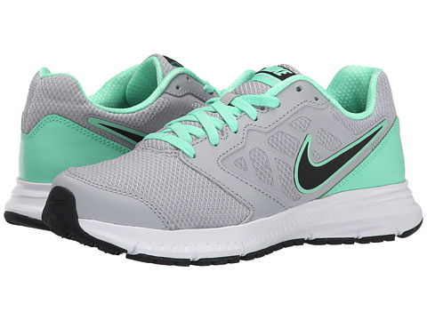 Nike - Downshifter 6 (Wolf Grey/Green Glow/White/Black) Women