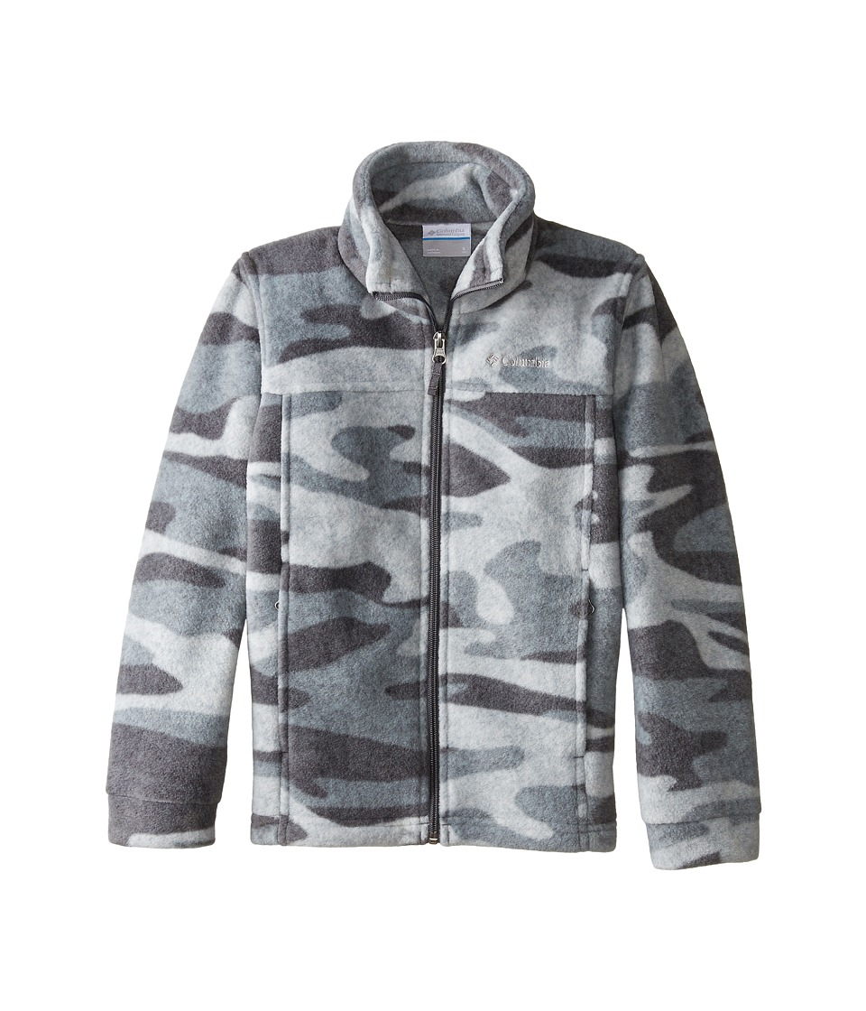 Columbia Kids - Zing III Fleece (Little Kids/Big Kids) (Graphite Tweed Camo) Boy's Fleece