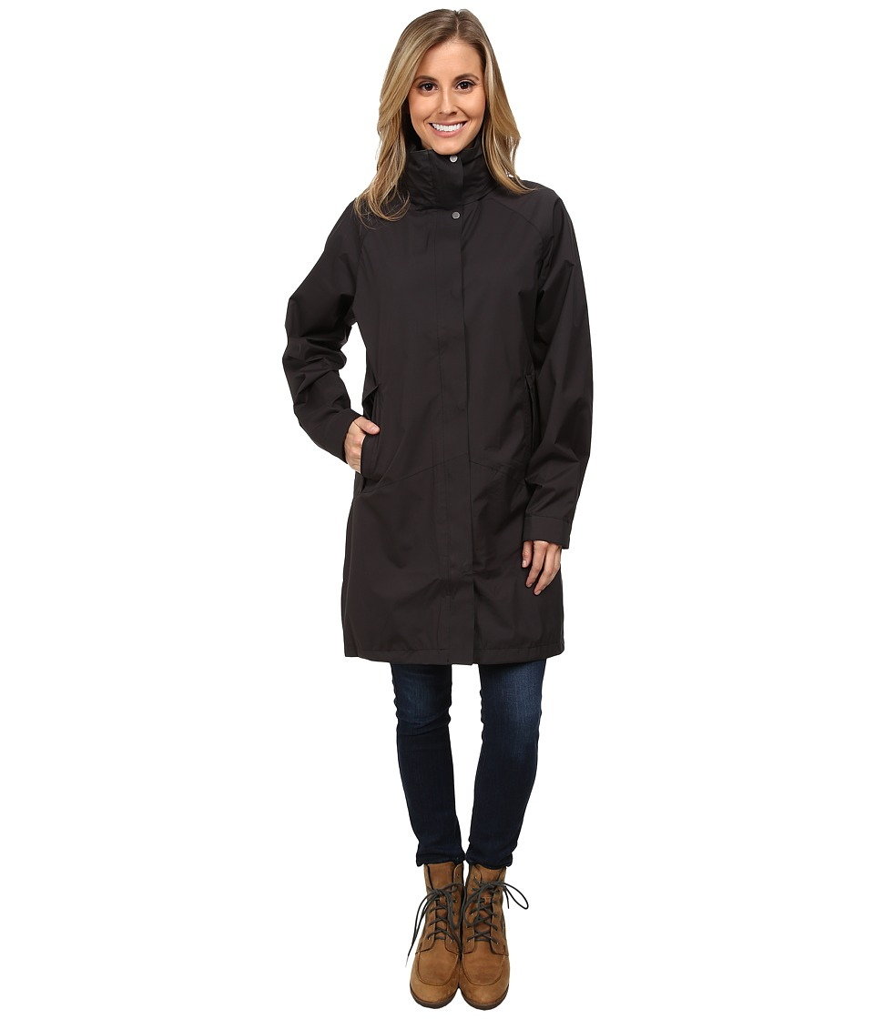 Toad&Co - Overshadow Trench Coat (Black) Women's Coat