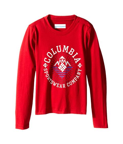 Columbia Kids - Explore Some More Graphic Long Sleeve Shirt (Little Kids/Big Kids) (Rocket) Boy