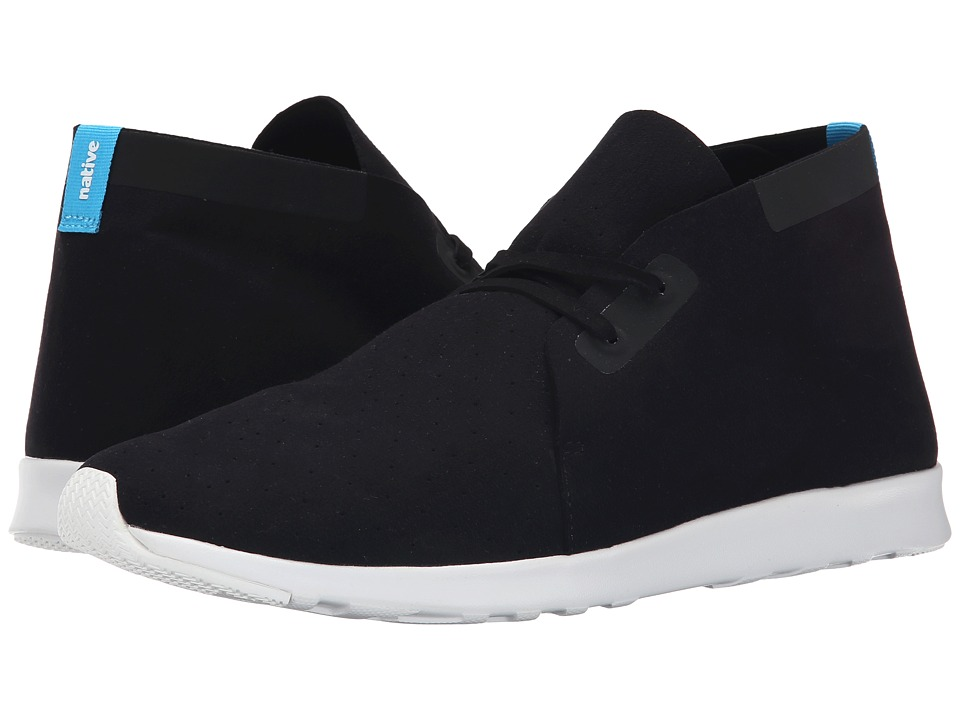 Native Shoes - Apollo Chukka (Jiffy Black/Shell White/Shell White Rubber) Shoes