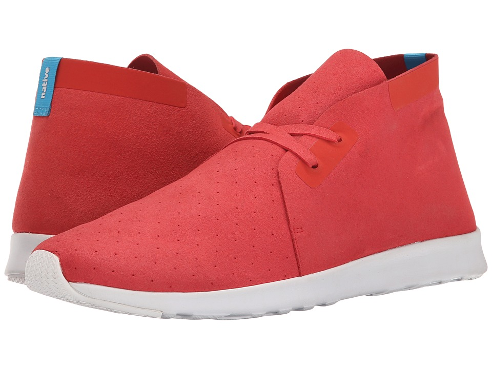 Native Shoes - Apollo Chukka (Torch Red/Shell White/Shell White Rubber) Shoes