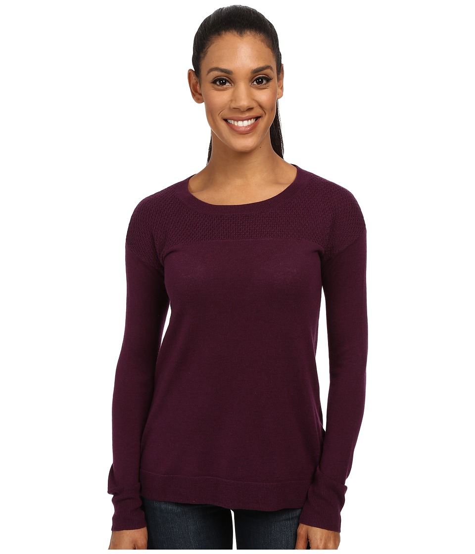 Toad&Co - Gypsy Crew Sweater (Tyrian Purple) Women's Sweater
