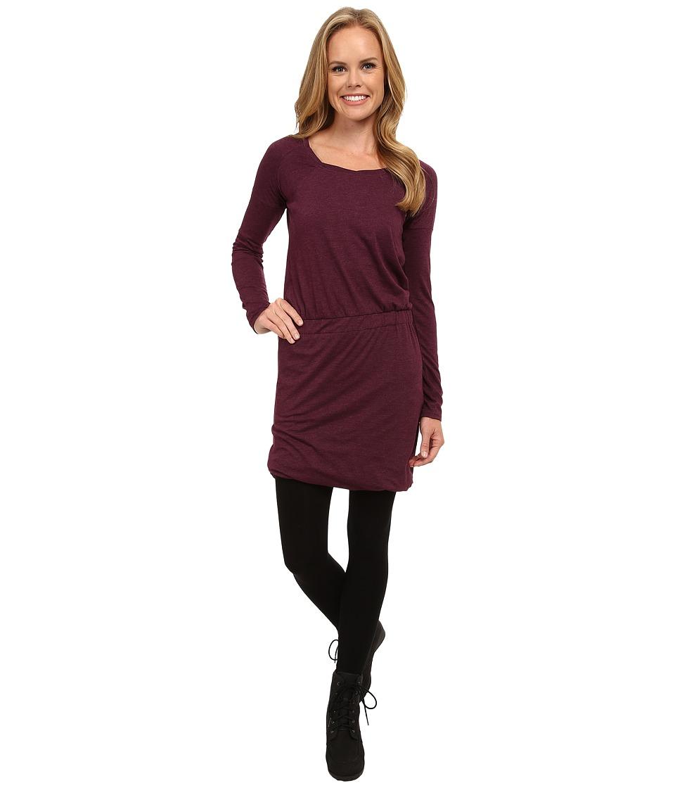 Toad&Co Allisa Long Sleeve Dress (Tyrian Purple) Women