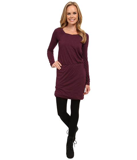 Toad&Co - Allisa Long Sleeve Dress (Tyrian Purple) Women