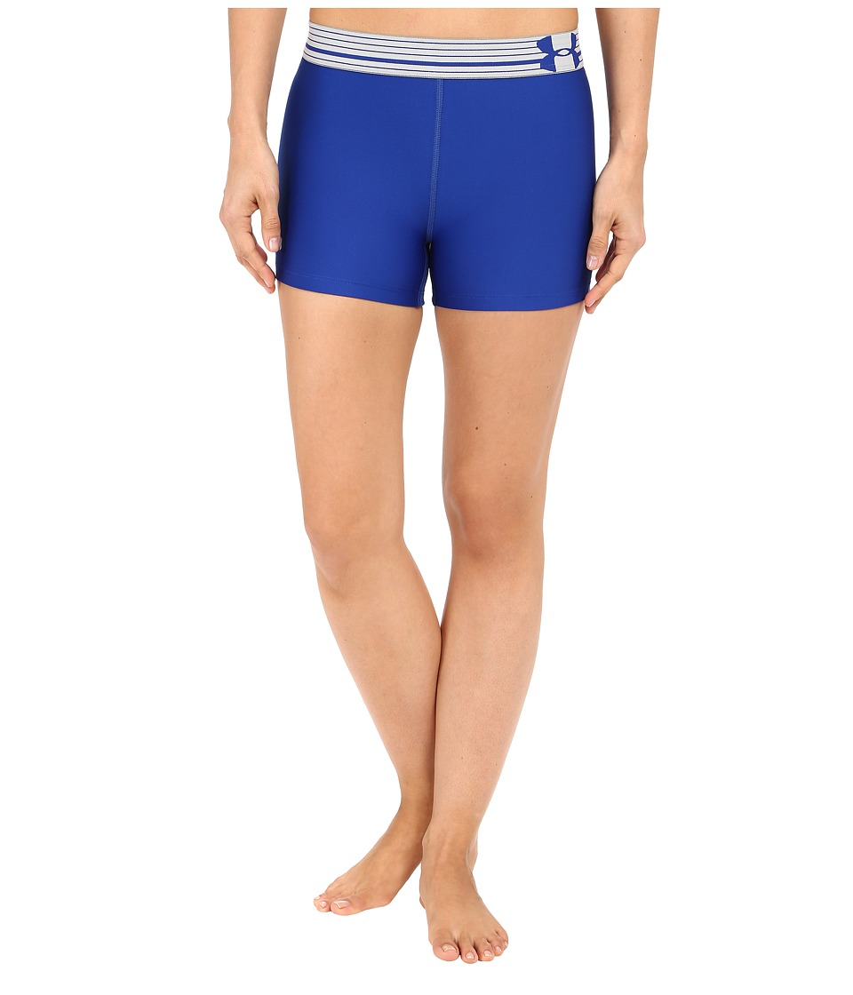 Under Armour UA HeatGear(r) Armour Compression Shorty (Royal/Royal/Metallic Silver) Women
