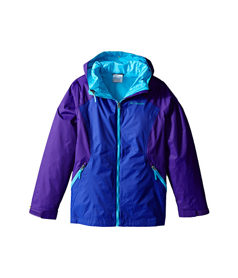 Columbia Kids - Winterswept Interchange Jacket (Little Kids/Big Kids) (Light Grape/Hyper Purple) Girl