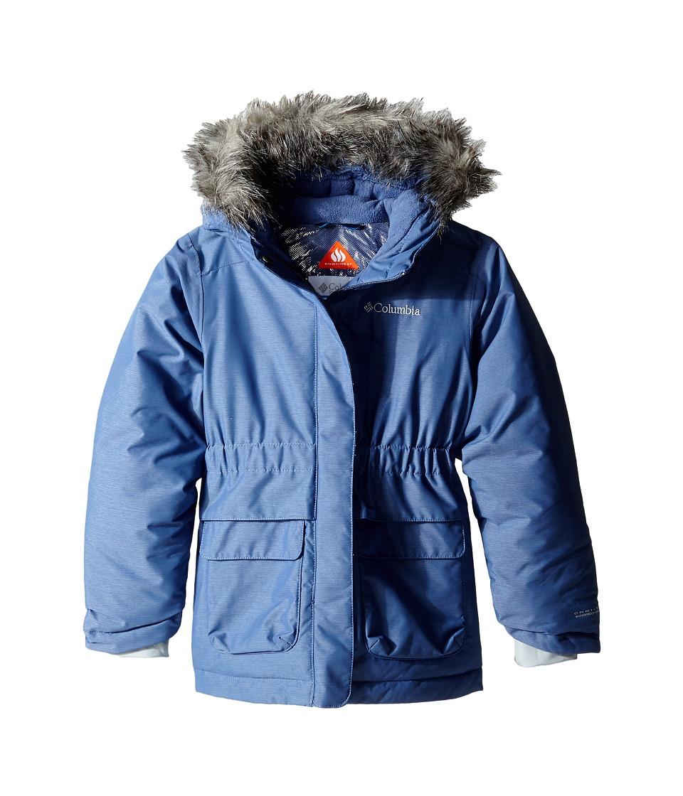 Columbia Kids - Nordic Strider Jacket (Little Kids/Big Kids) (Bluebell) Girl's Coat
