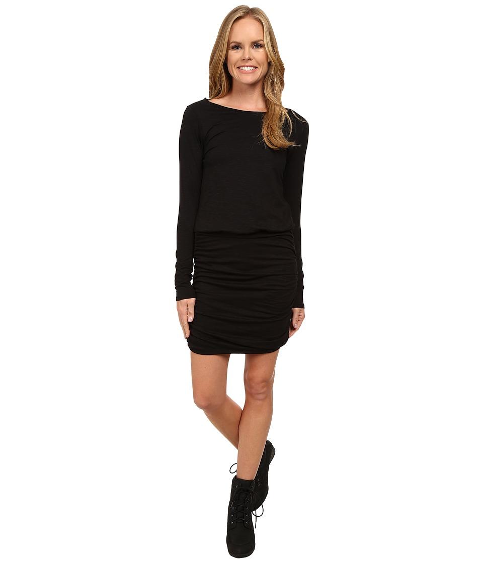 Toad&Co Outfox Dress (Black) Women