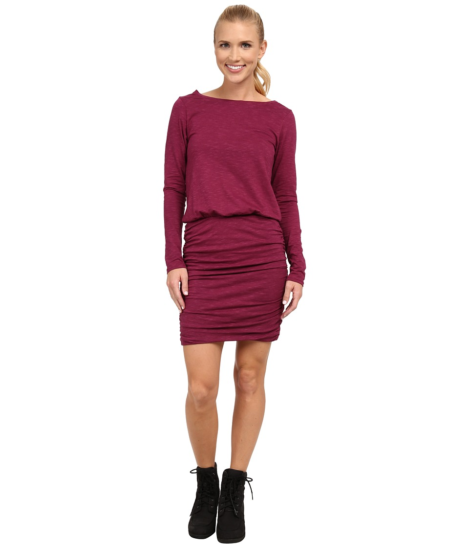 Toad&Co - Outfox Dress (Dark Thistle) Women's Dress