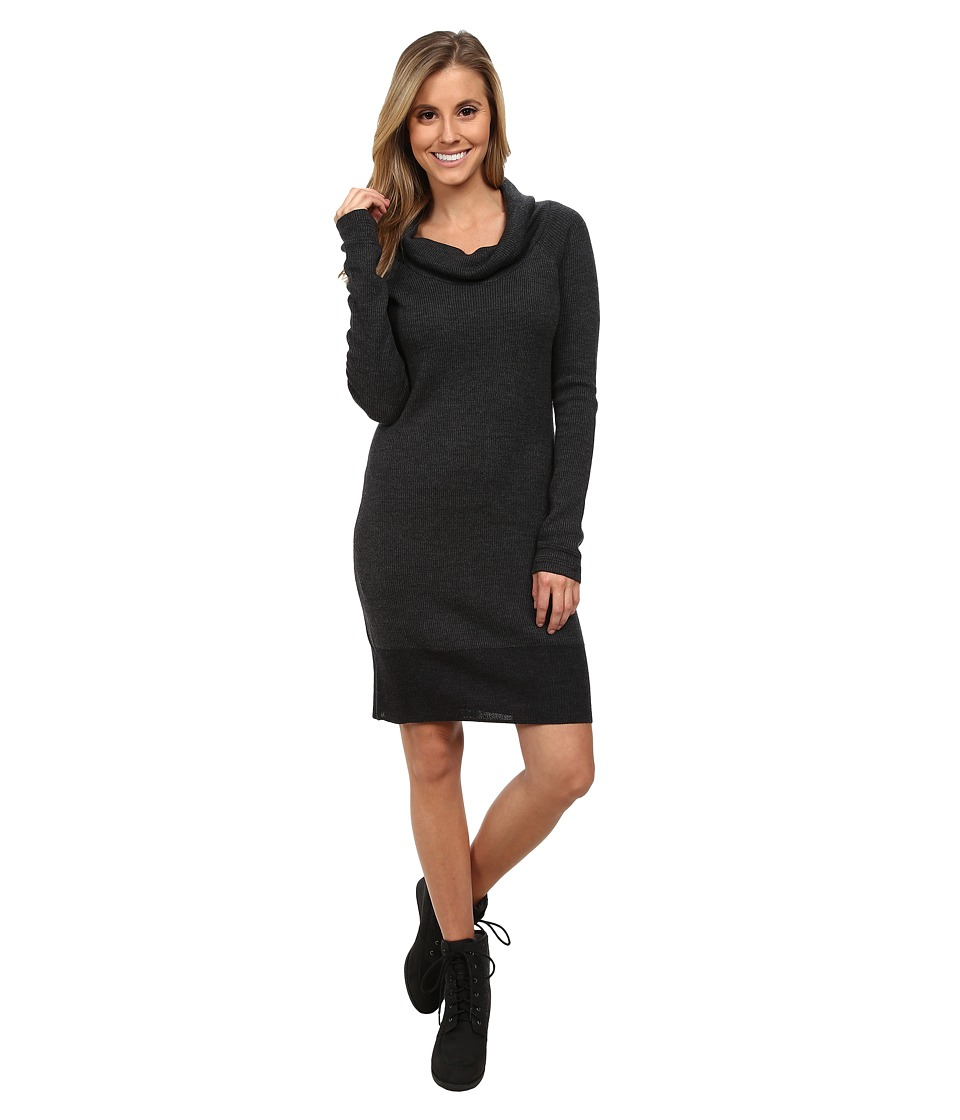 Toad&Co - Uptown Sweater Dress (Black) Women's Dress