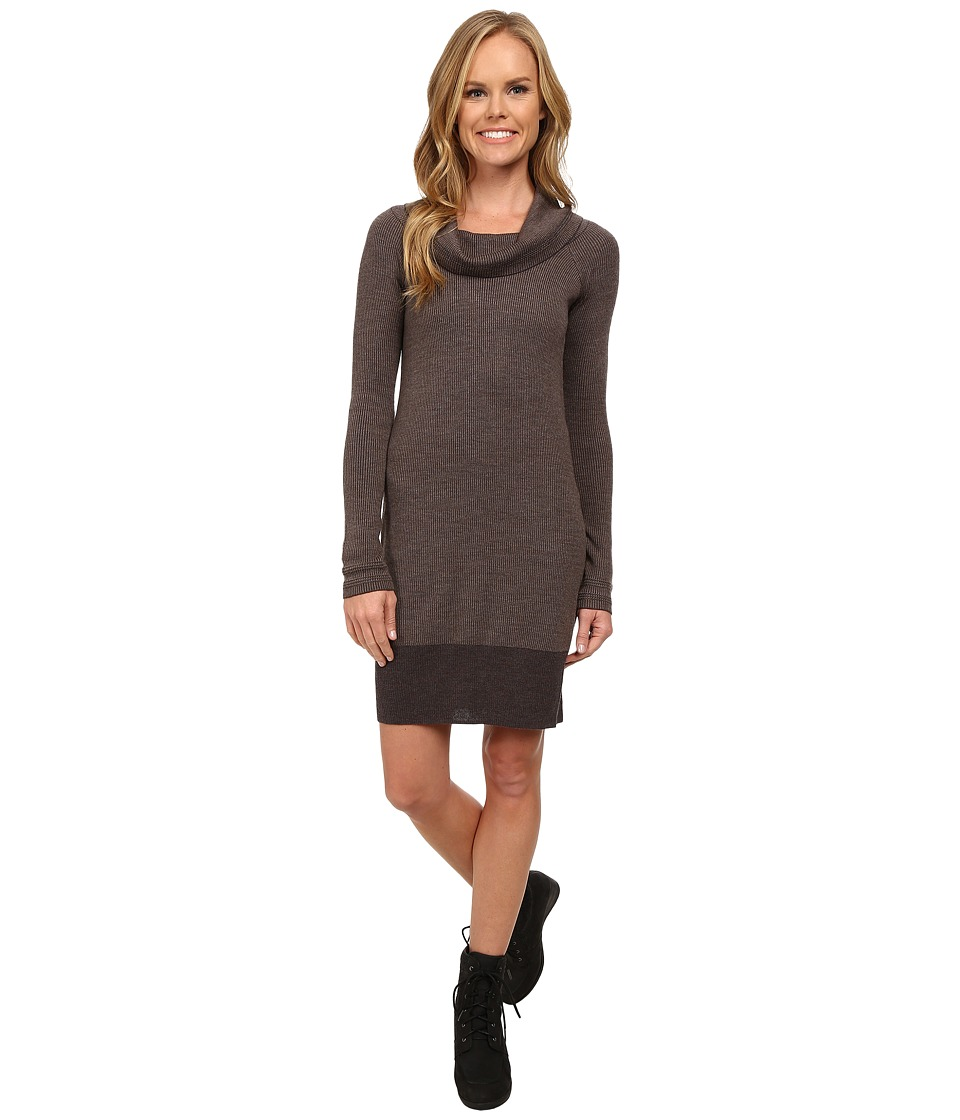 Toad&Co - Uptown Sweater Dress (Falcon Brown) Women's Dress