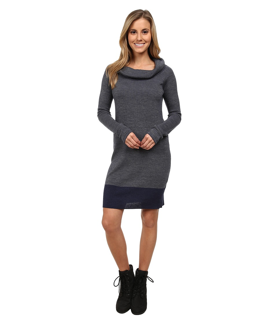 Toad&Co - Uptown Sweater Dress (Deep Navy) Women's Dress