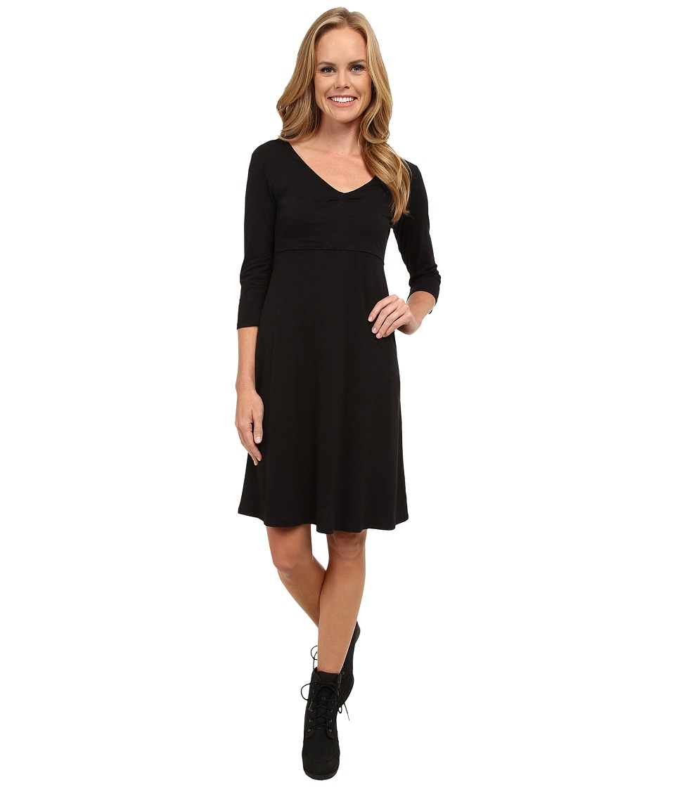 Toad&Co - Rosalinda Jersey Knit Dress (Black) Women's Dress