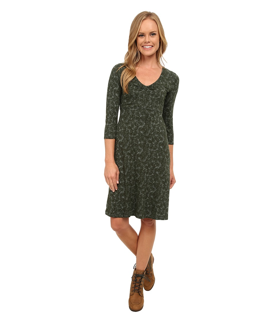 Toad&Co - Rosalinda Jersey Knit Dress (Pinion Pine Boughs Print) Women