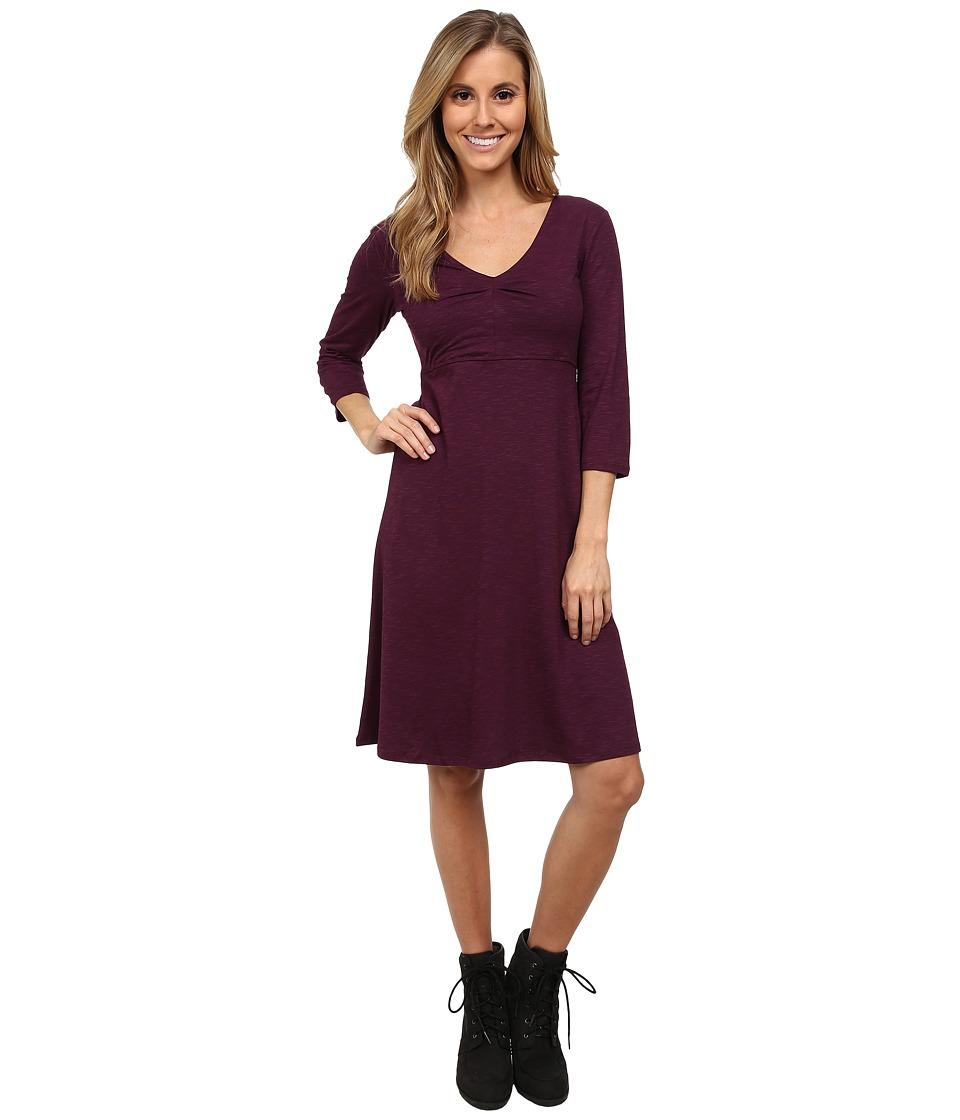 Toad&Co - Rosalinda Jersey Knit Dress (Tyrian Purple) Women's Dress