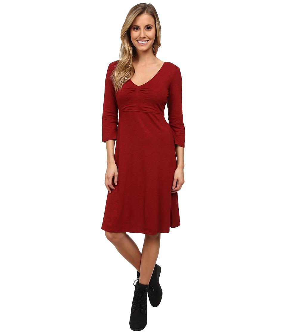 Toad&Co - Rosalinda Jersey Knit Dress (Molten) Women's Dress