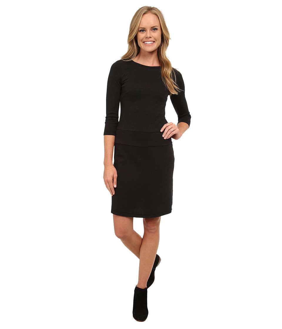Toad&Co - Nixi Knit Dress (Black) Women's Dress