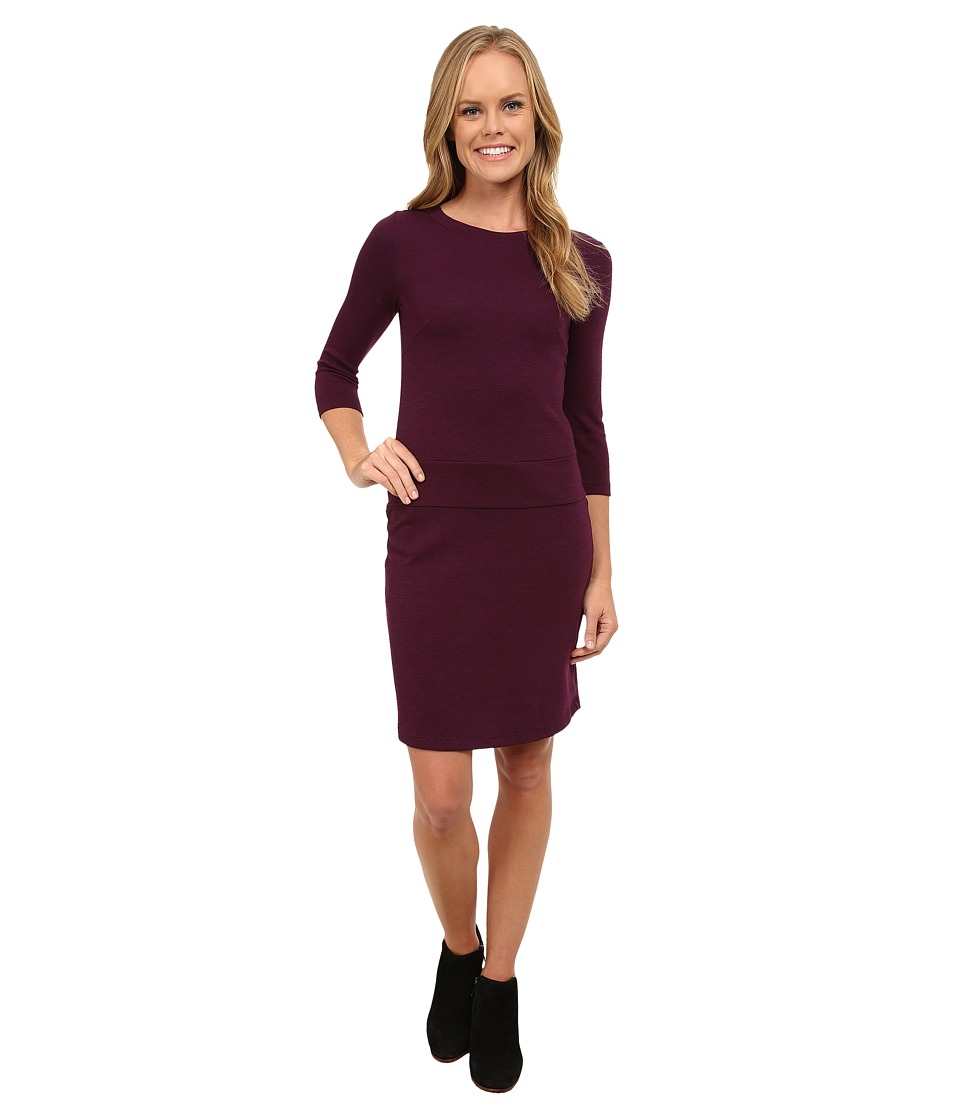 Toad&Co - Nixi Knit Dress (Tyrian Purple) Women's Dress