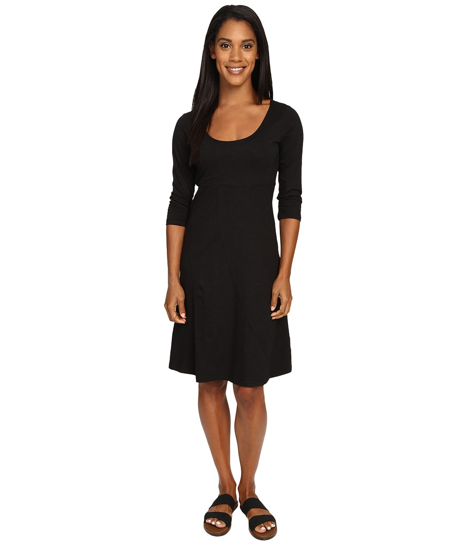 Toad&Co - Nena 3/4 Dress (Black) Women's Dress