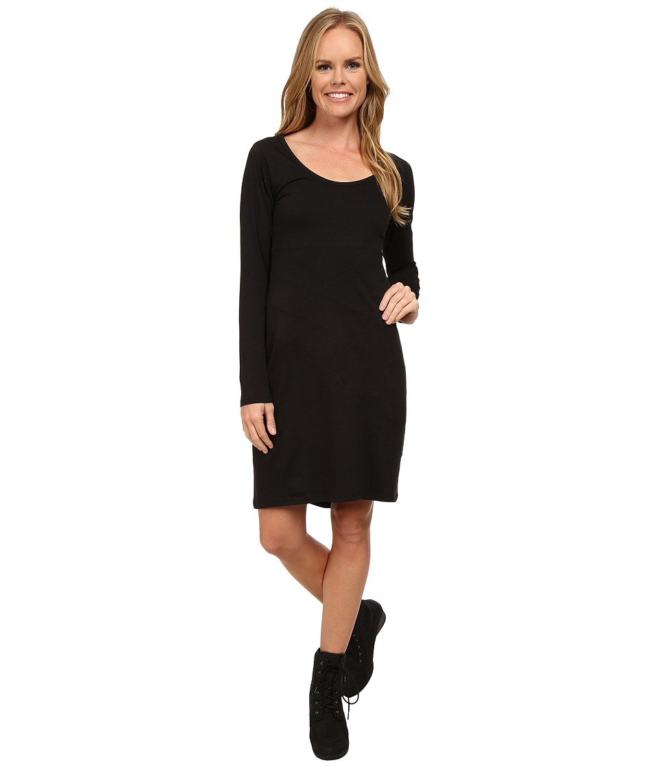 Toad&Co Facette Dress (Black) Women