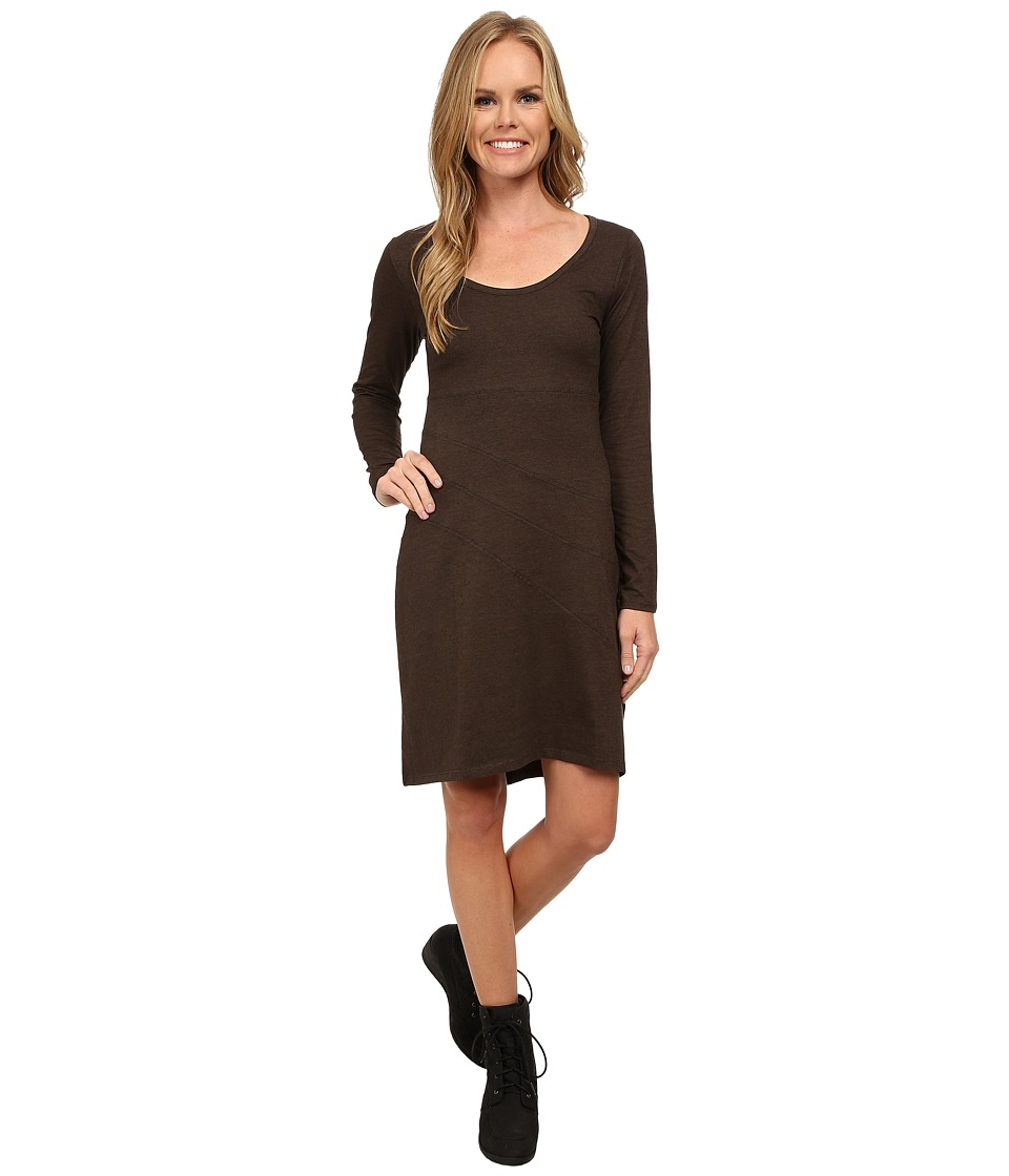 Toad&Co - Facette Dress (Turkish Coffee) Women's Dress
