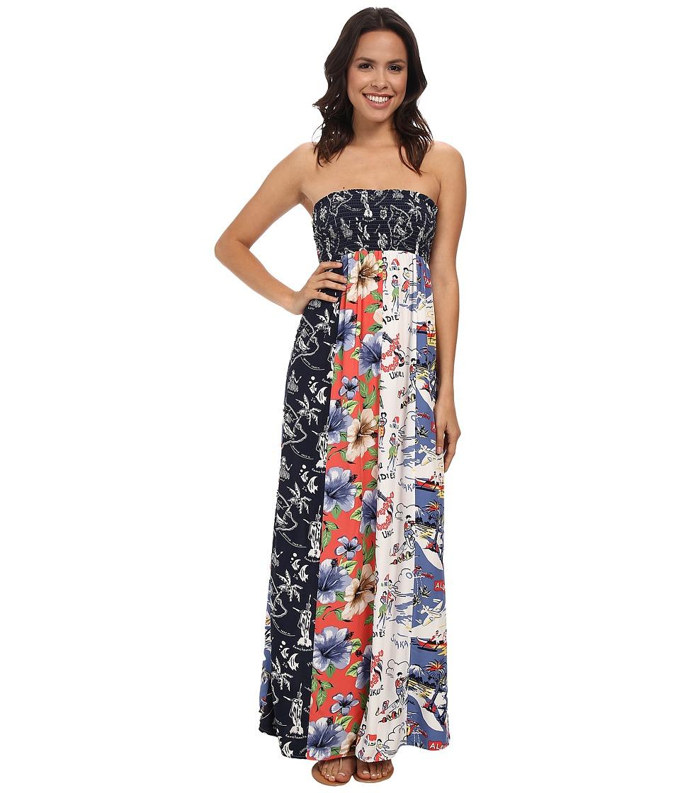 Tommy Bahama - Print Mix Dress (Full Bloom) Women