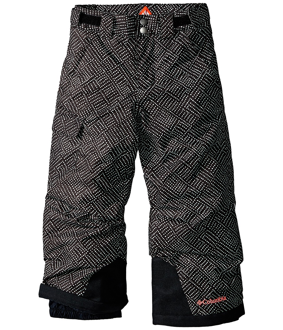 Columbia Kids - Bugaboo Pant (Little Kids/Big Kids) (Black Dot Print/Laser Red) Girl's Outerwear