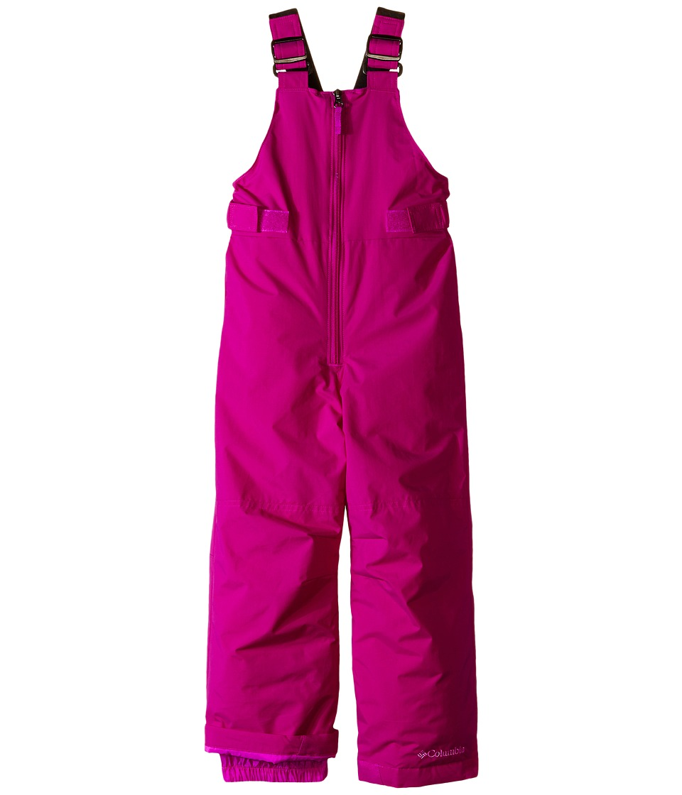 Columbia Kids - Snowslope II Bib (Little Kids/Big Kids) (Bright Plum) Girl's Snow Bibs One Piece
