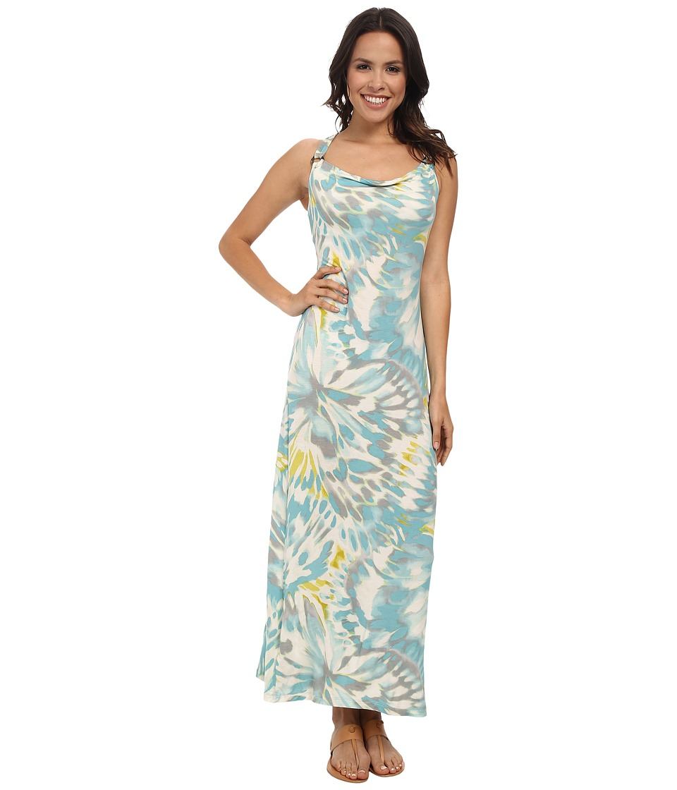 Tommy Bahama - Leopard Splash Long Dress (Heavenly Peace) Women