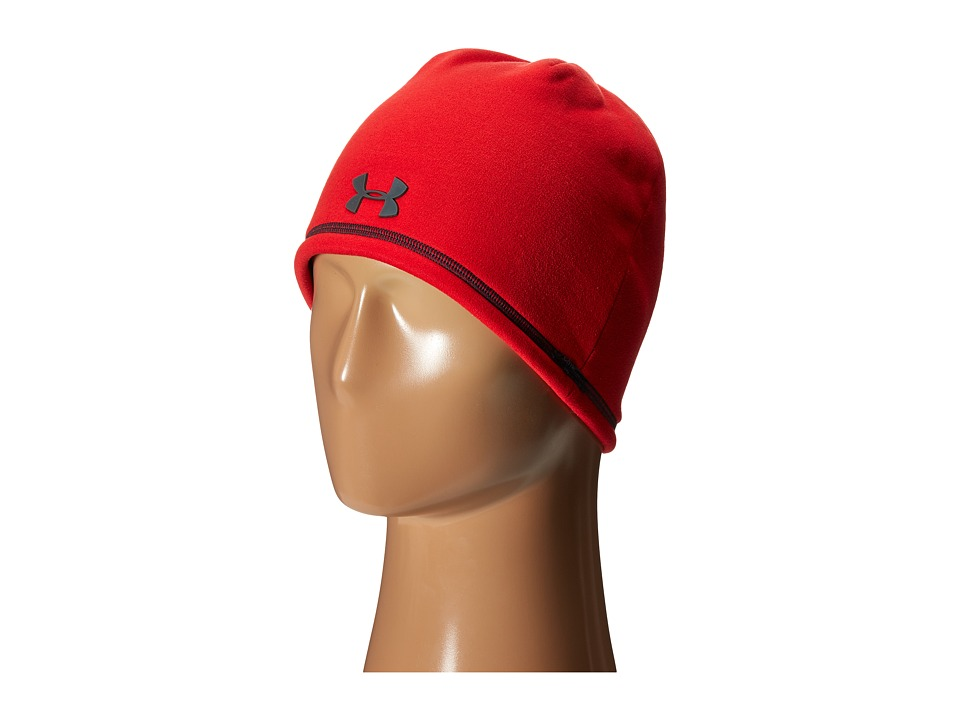 Under Armour - UA Elements Beanie 2.0 (Red/Stealth Gray/Stealth Gray) Beanies
