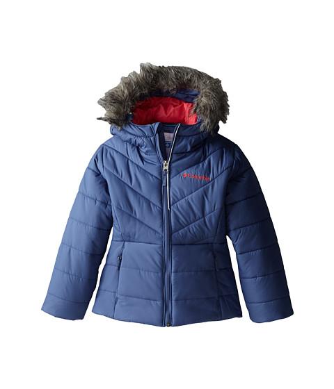 Columbia Kids - Katelyn Crest Jacket (Little Kids/Big Kids) (Bluebell/Tango Pink) Girl's Coat