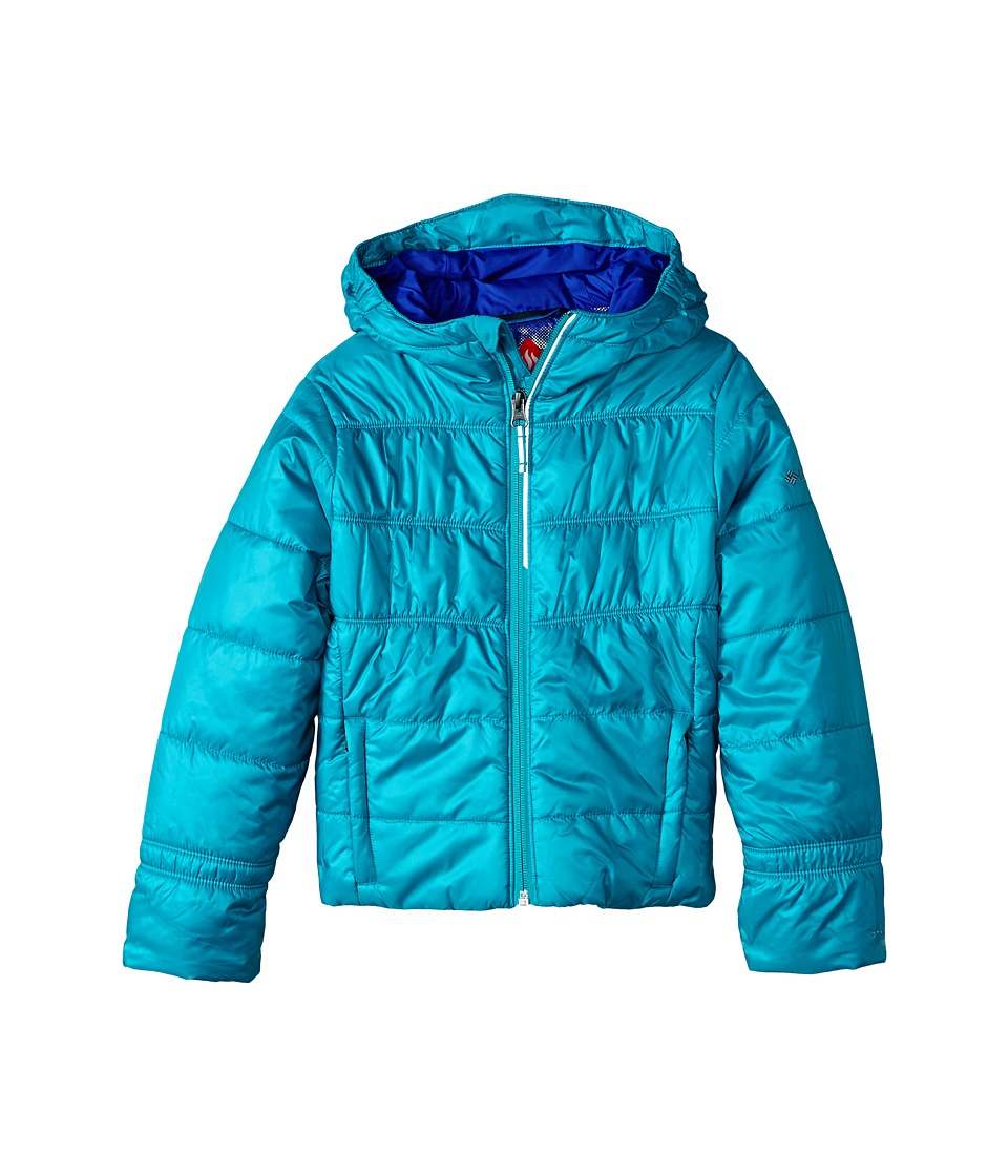 Columbia Kids - Shimmer Me II Jacket (Little Kids/Big Kids) (Mayan Green/Light Grape) Girl's Coat
