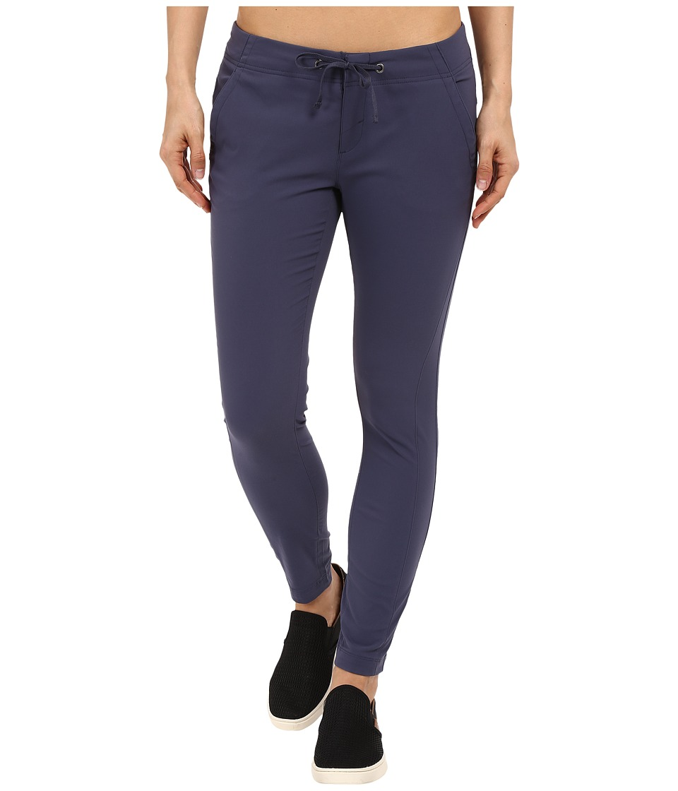 Columbia - Anytime Outdoor Ankle Pant (Nocturnal) Women's Casual Pants