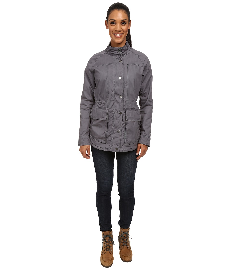 Toad&Co - Backstory Jacket (Storm Grey) Women's Coat
