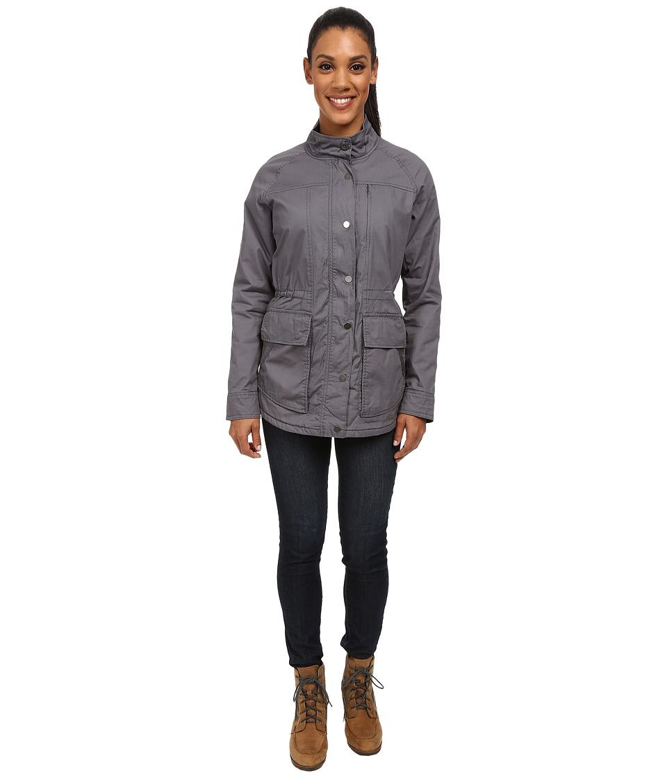 Toad&Co - Backstory Jacket (Storm Grey) Women's Coat