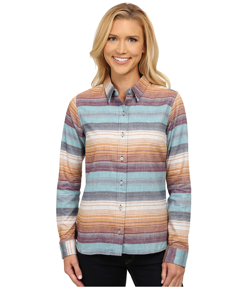 Toad&Co - Lightfoot Long Sleeve Shirt (Dark Copper) Women's Long Sleeve Button Up