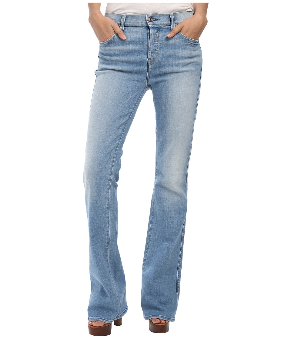 7 For All Mankind - High Waist Vintage Bootcut in Light Sky (Light Sky) Women's Jeans