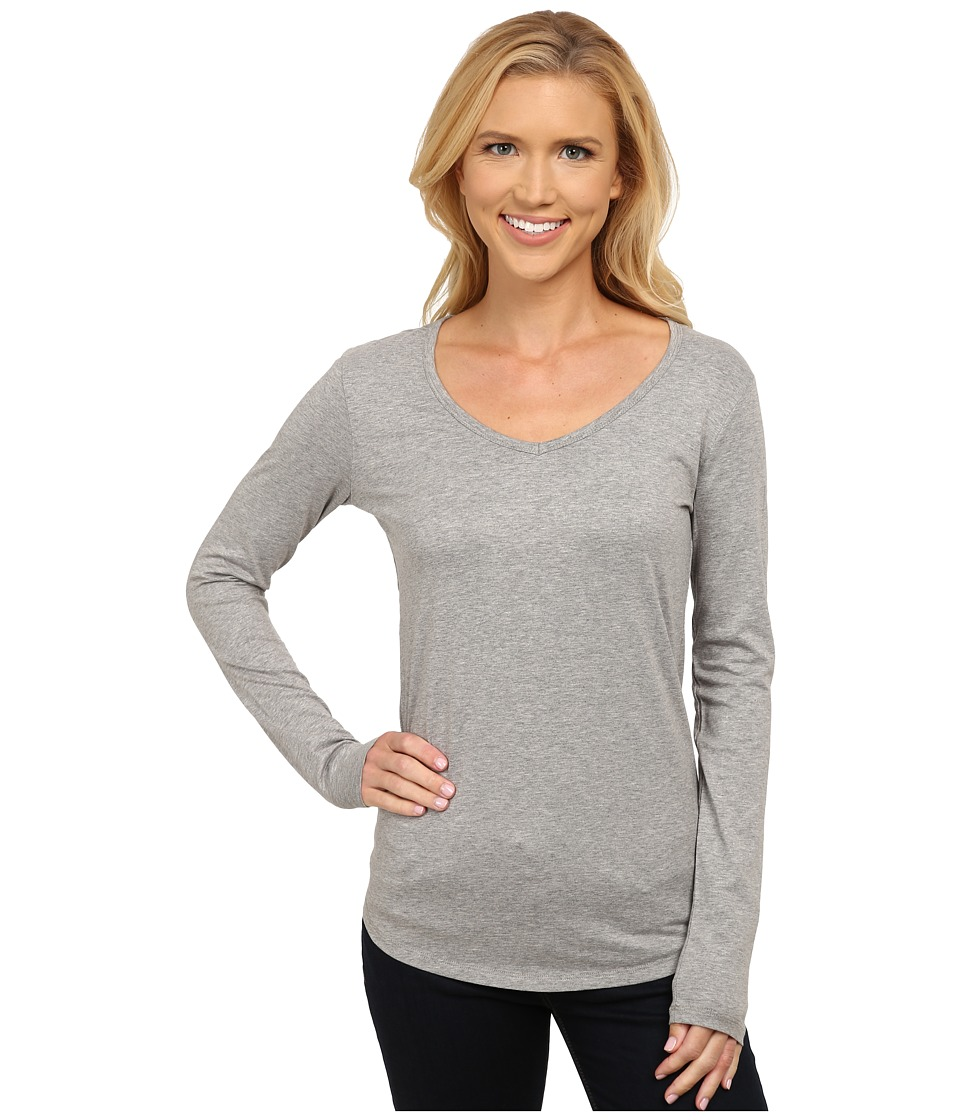 Toad&Co - Marley Long Sleeve Tee (Heather Grey) Women