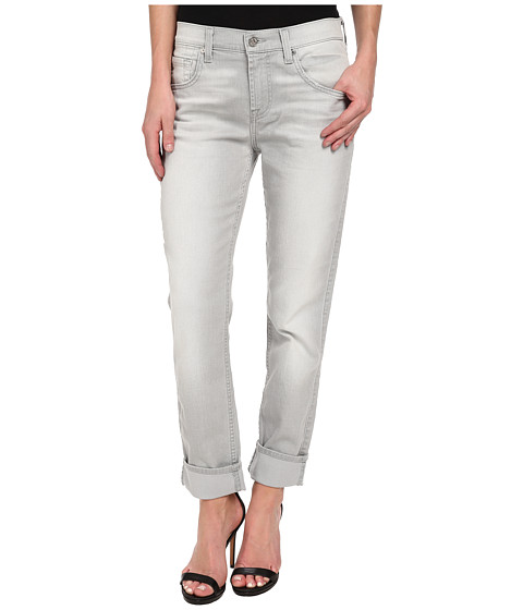 7 For All Mankind - Relaxed Skinny in Distressed Spring Grey (Distressed Spring Grey) Women