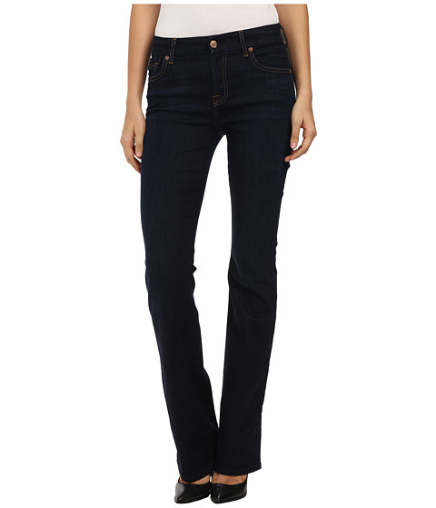 7 For All Mankind - Mid Rise Kimmie Boot in Classic Dark (Classic Dark) Women's Jeans