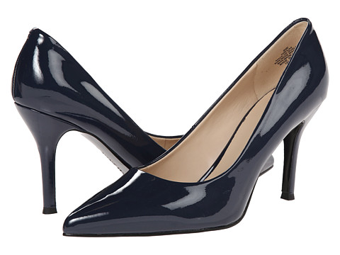 Nine West - Flax (Navy Synthetic) High Heels