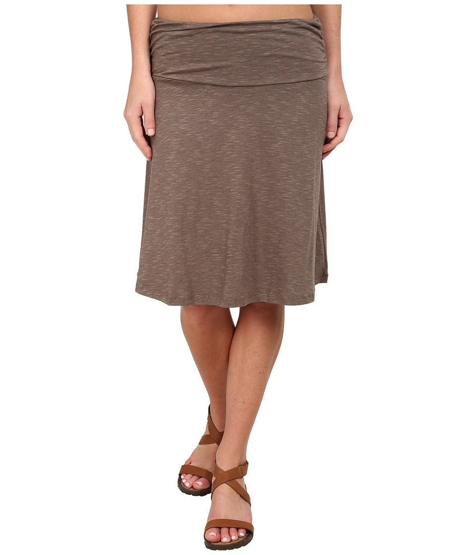 Toad&Co - Chaka Skirt (Falcon Brown) Women's Skirt